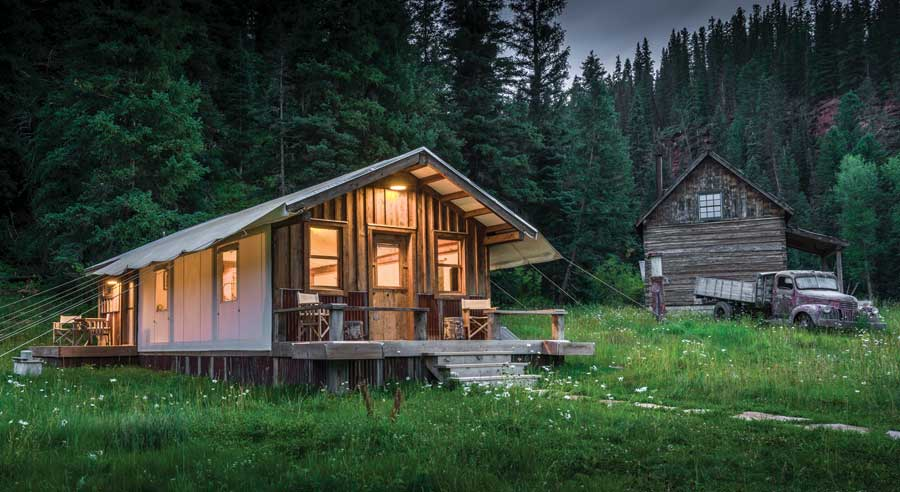 ... getaways-Christyu0027s-Tent-Outside & Ramble On - Coloradou0027s Offbeat Getaways | Boulder County Home ...