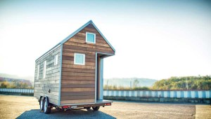 Many tiny homes are totable, so you can pick up and move to new surroundings whenever you like. Photo by Sacha Webley, courtesy Shelter Wise