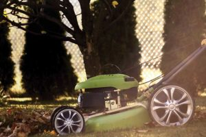 Photo of lawnmower by Konecny
