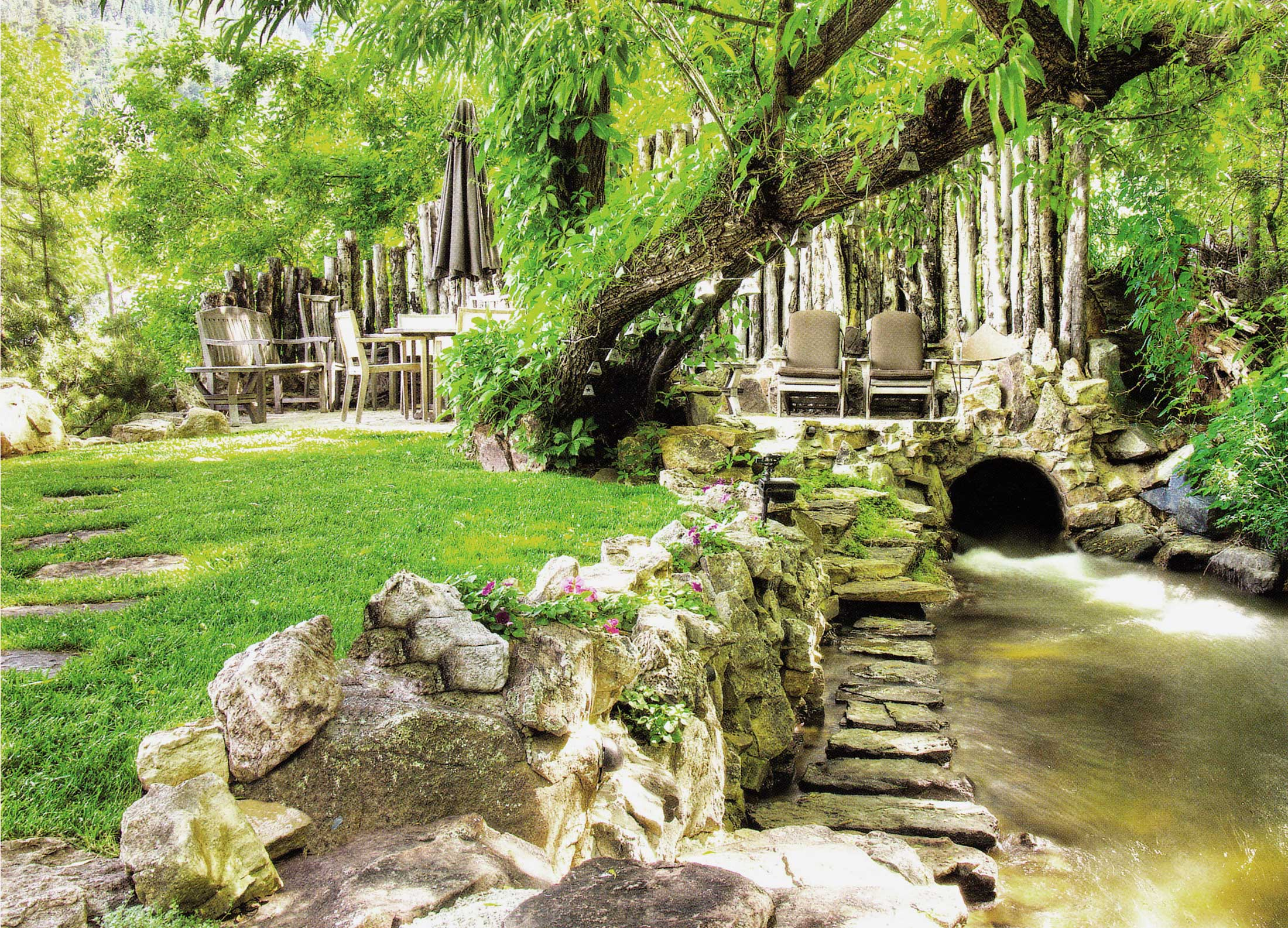 Feature Garden: Set In Stone   Boulder County Home ...